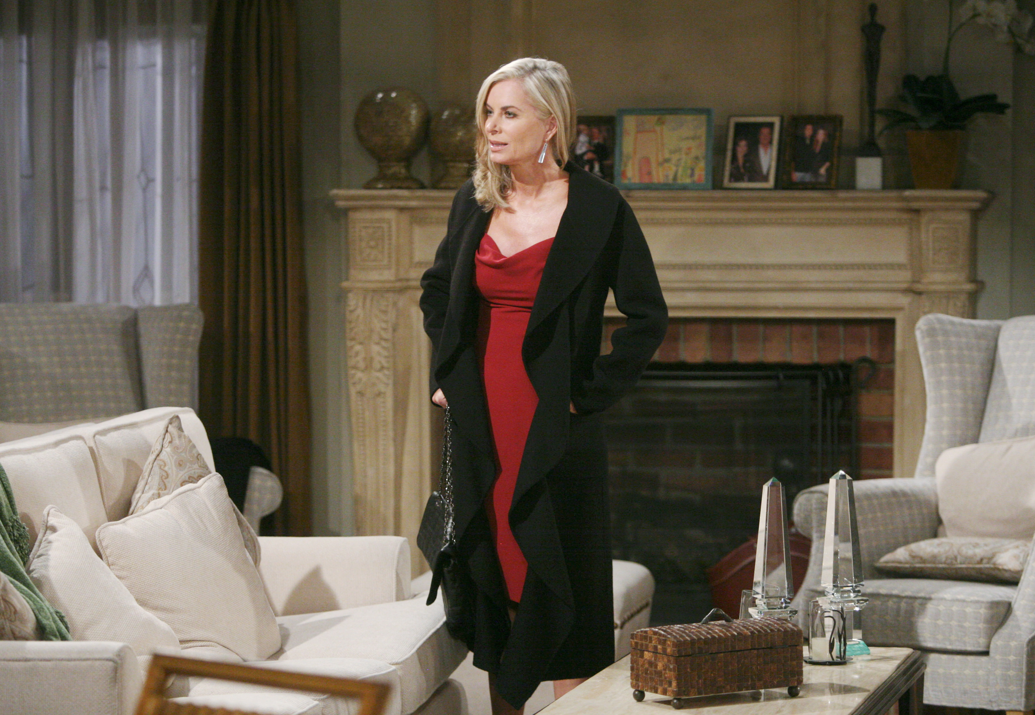 Ashley Abbott has a flair for fashion on The Young and the Restless.