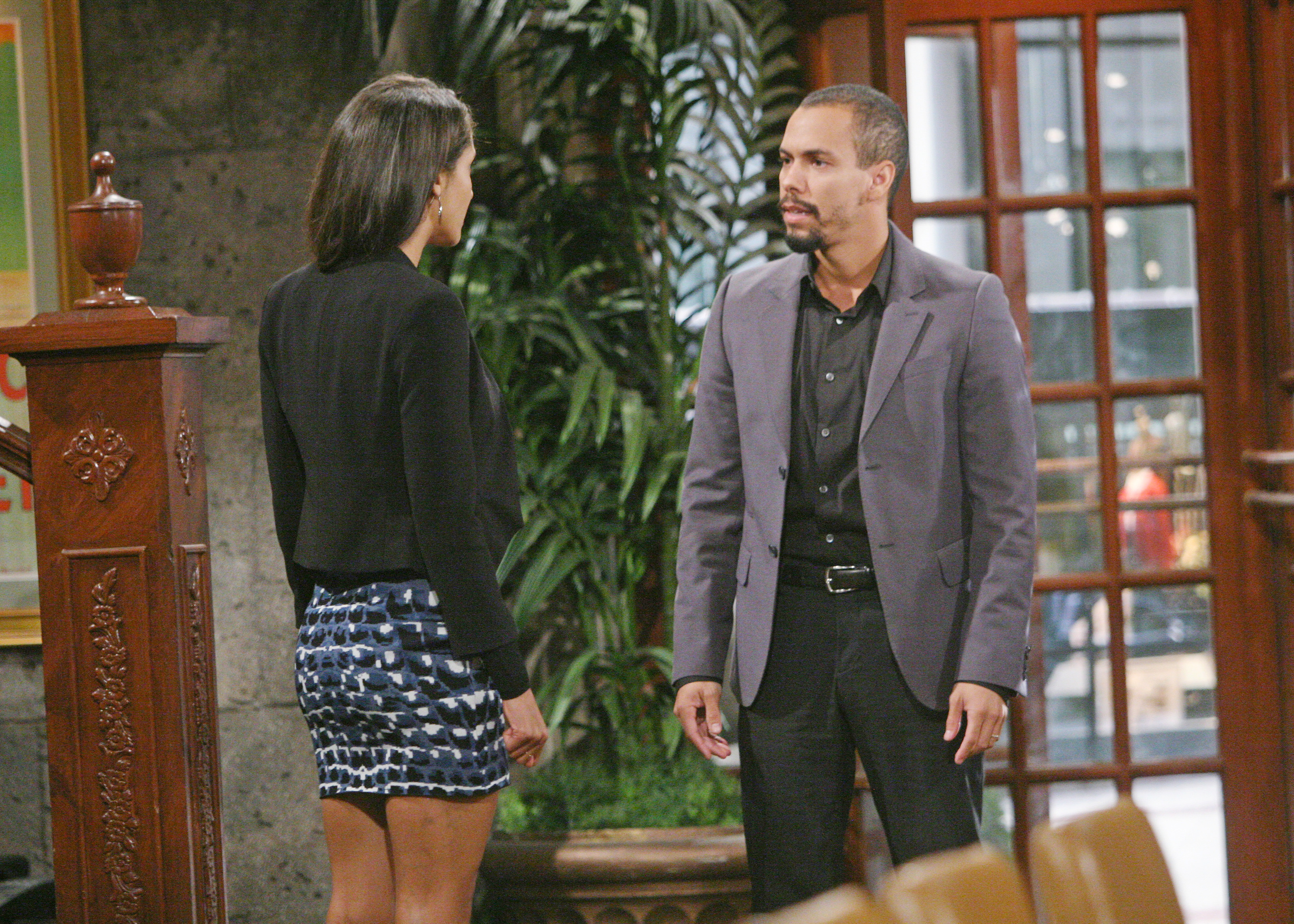 Devon clashes with Lily.
