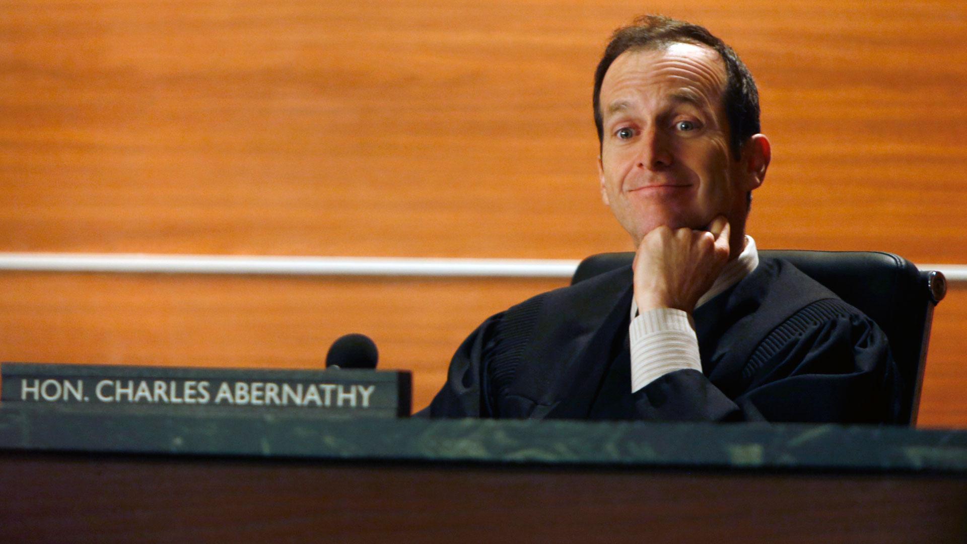 Judge Charles Abernathy (Denis O'Hare)