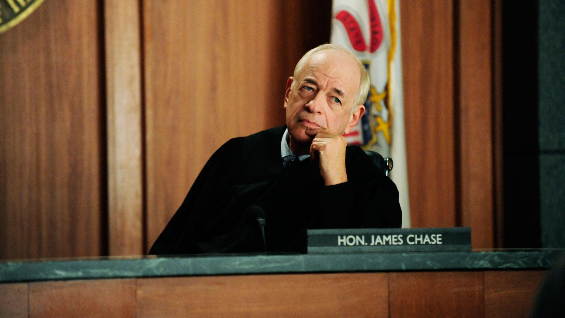 Judge James Chase (Kenneth Tigar)