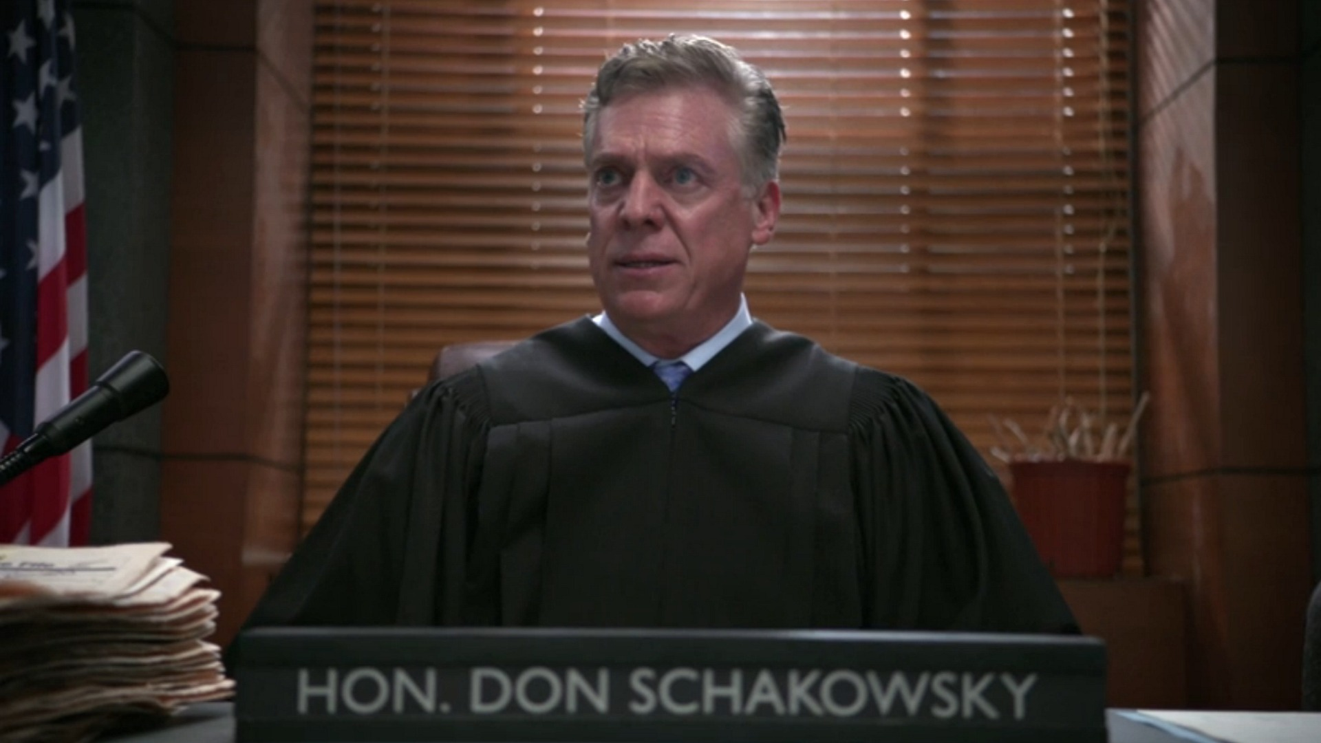Judge Don Schakowsky (Christopher McDonald)