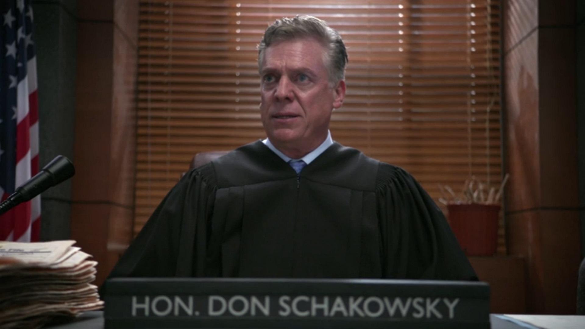 Judge Don Schakowsky (Christopher McDonald)