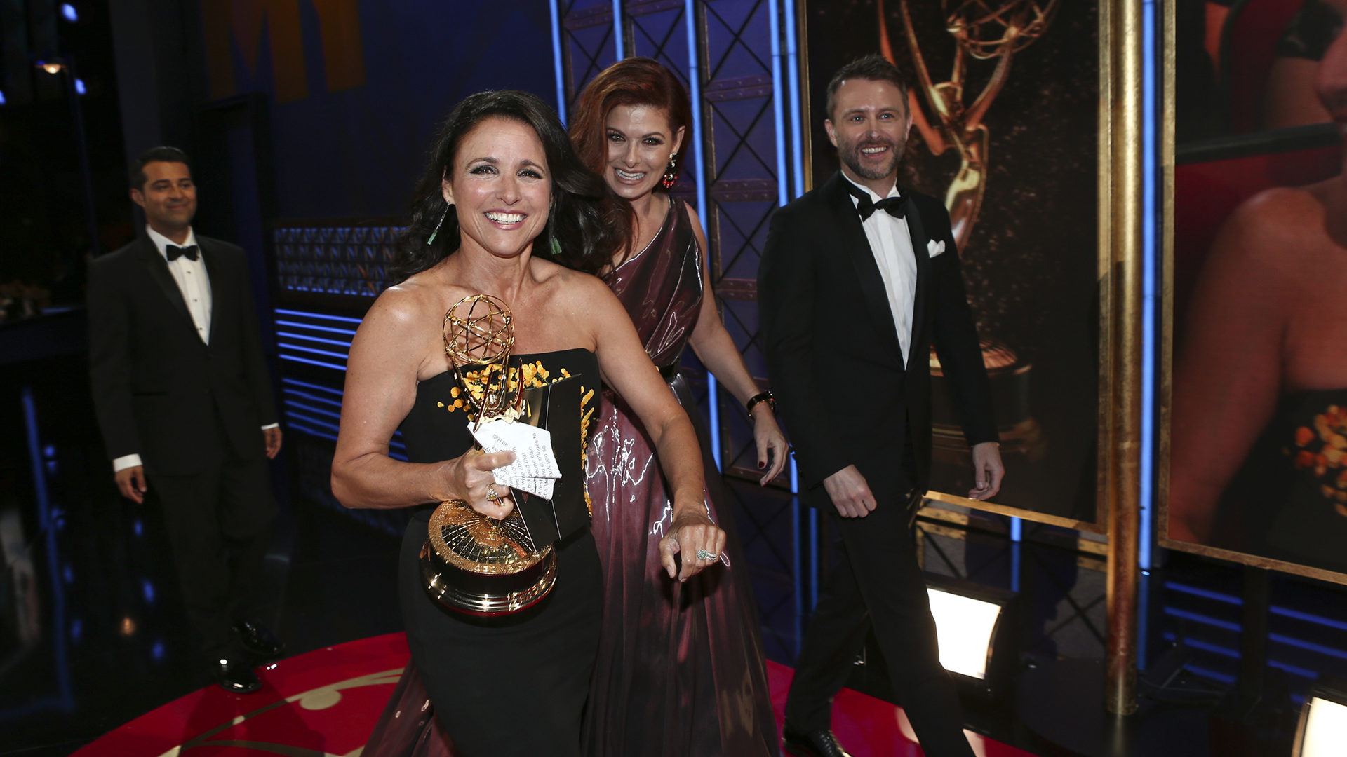 Julia Louis-Dreyfus wins Outstanding Lead Actress in a Comedy Series at The 69th Emmy Awards.