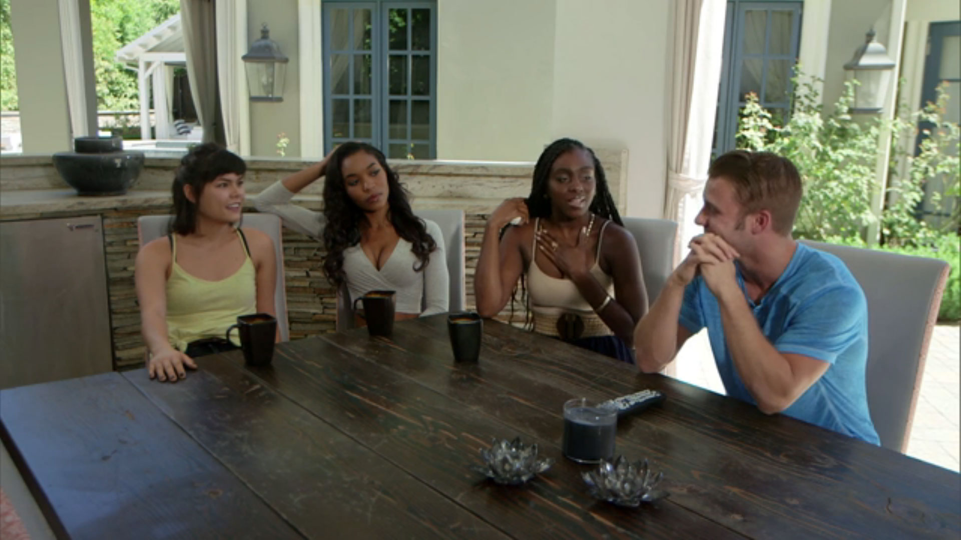 3. He thinks Bridgette was pretty harsh toward his brother in the Jury House.