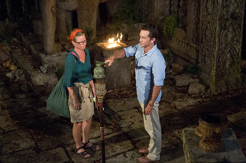 1. Were you surprised by your Tribal Council send-off?