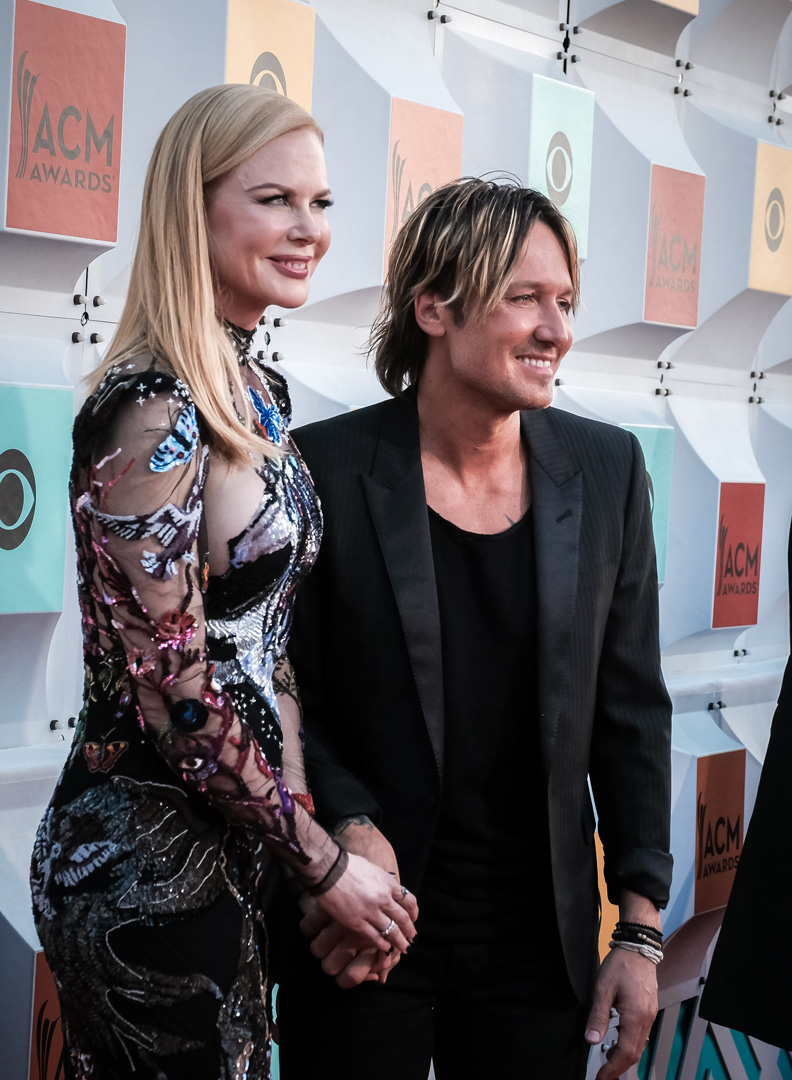 2016 ACMs: Nicole Kidman and Keith Urban