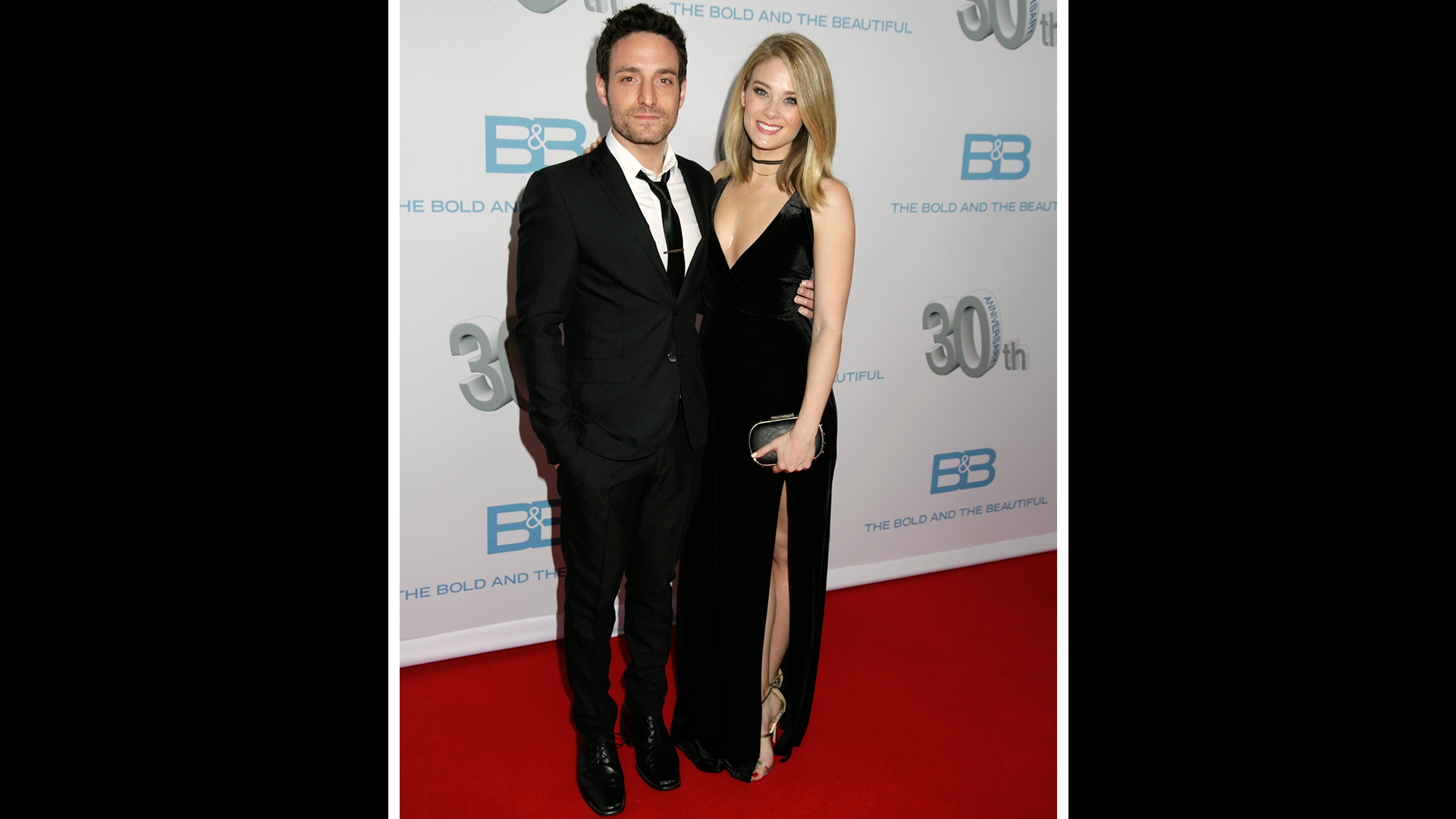 Kim Matula makes an appearance with her date, Ben Goldberg.