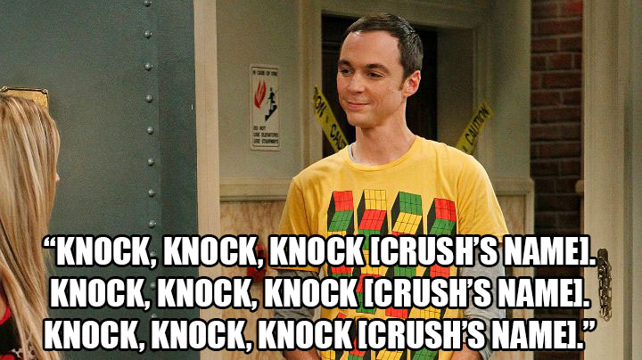 Surefire Pick-Up Lines That'll Work On Any Fan Of The Big Bang