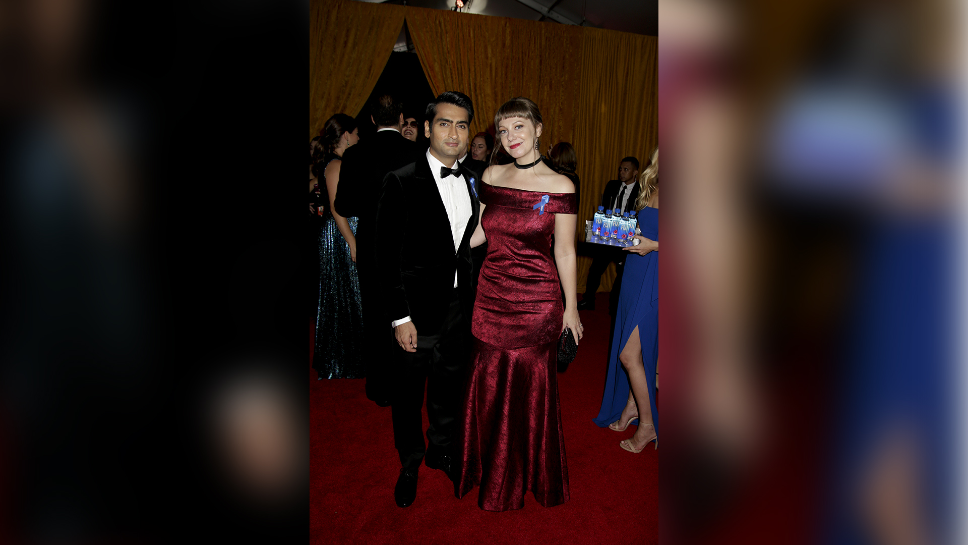 Kumail Nanjiani from Silicon Valley and wife Emily Gordon
