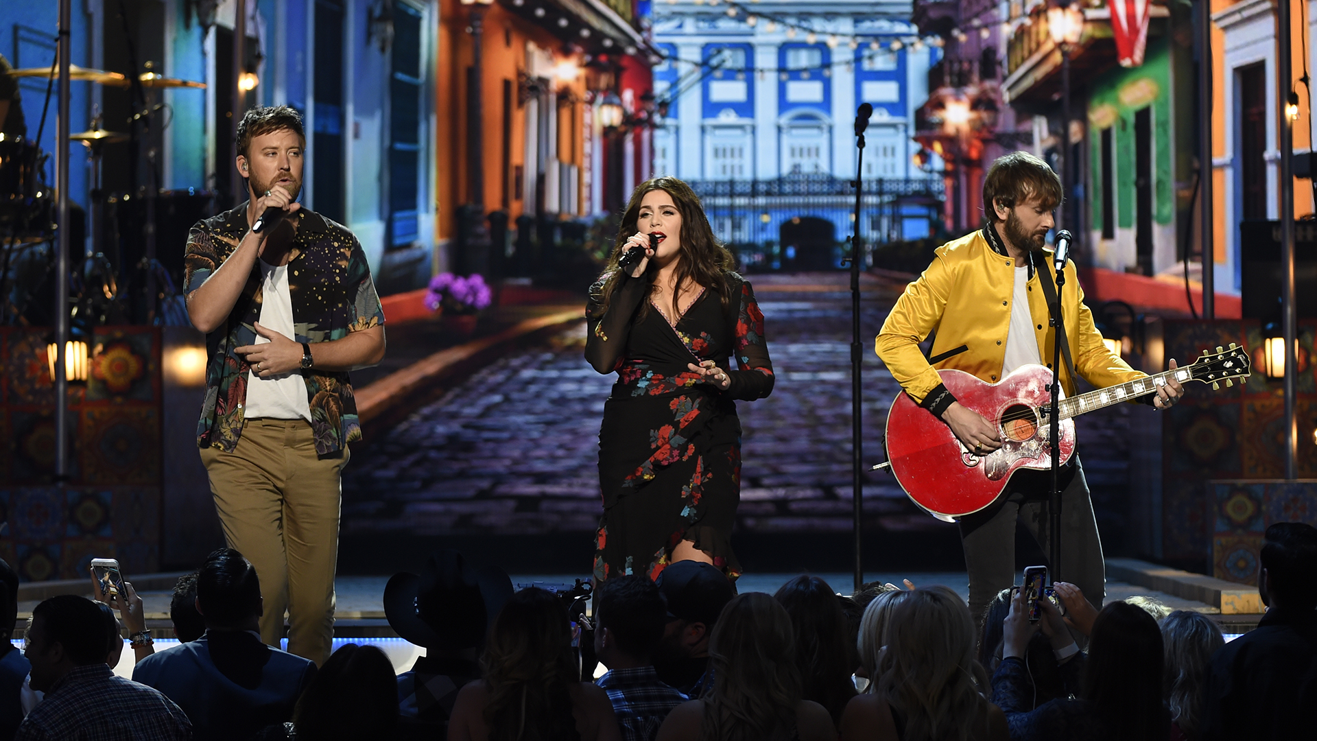 Lady Antebellum plays one of their latest singles,