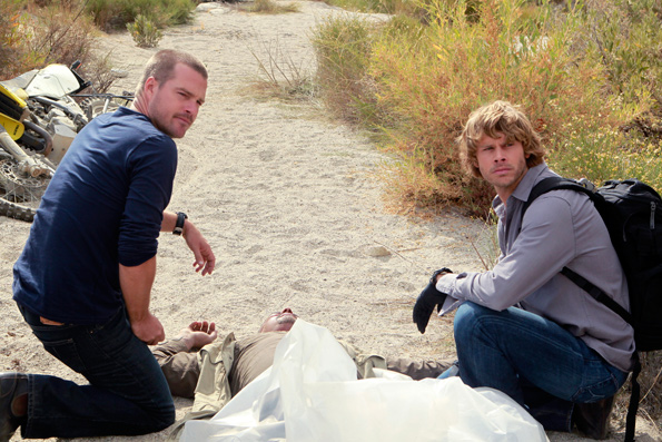Special Agent G. Callen and LAPD Detective Marty Deeks