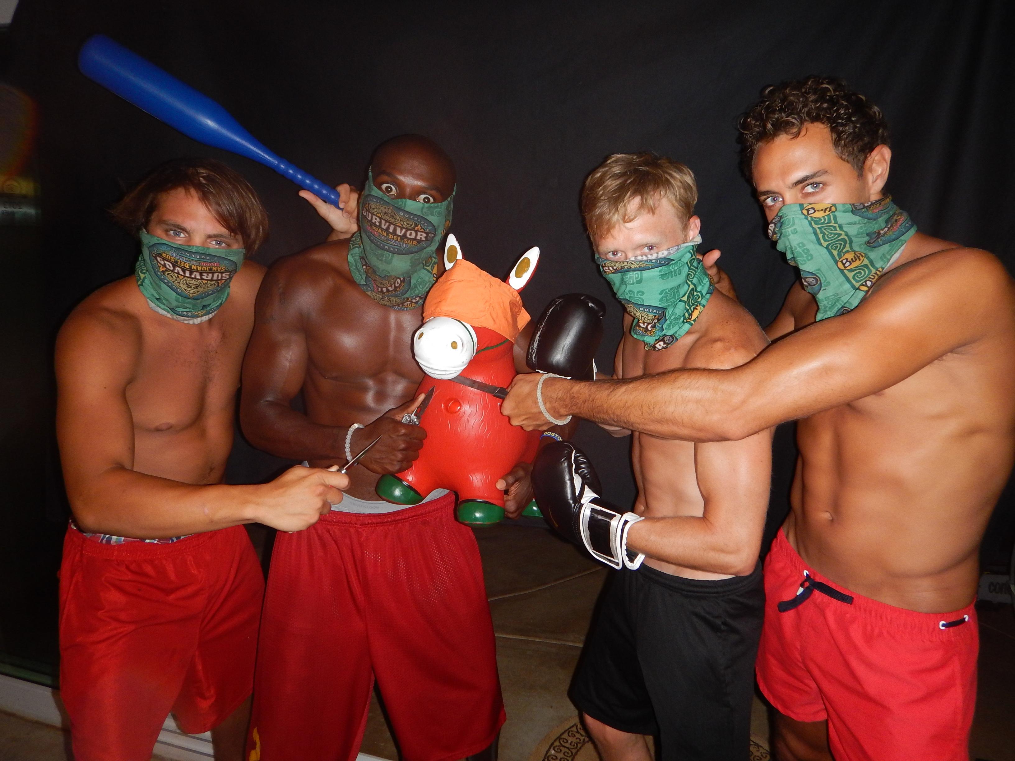 Four guys on Ponderosa