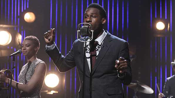 Leon Bridges makes his first network-televised performance.