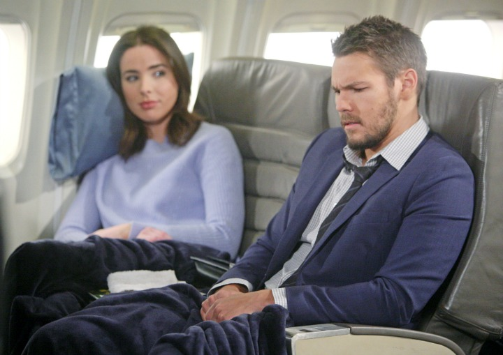 Liam wonders how Steffy will take the news.