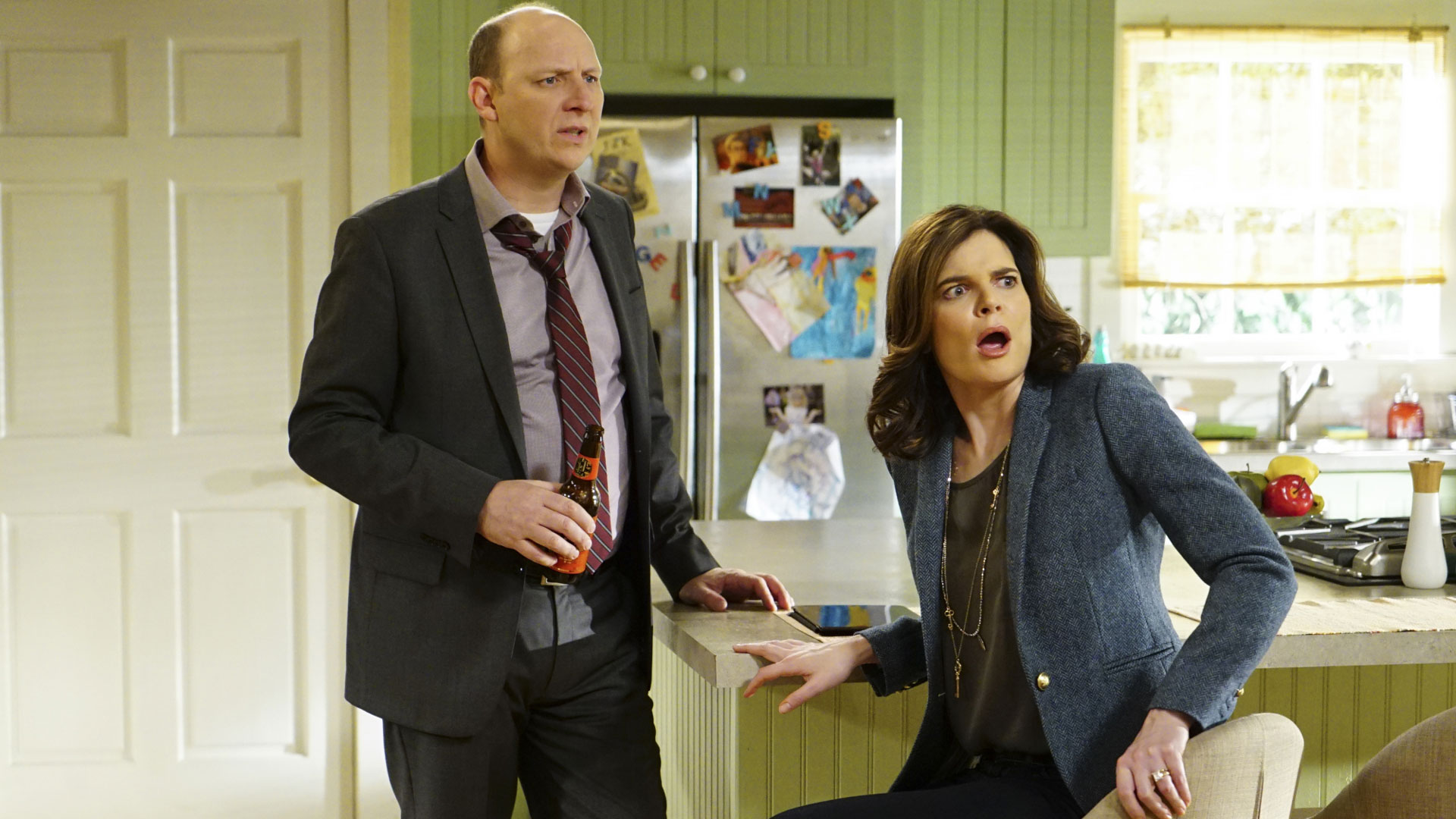 Life In Pieces deepens with more over-the-top family drama.