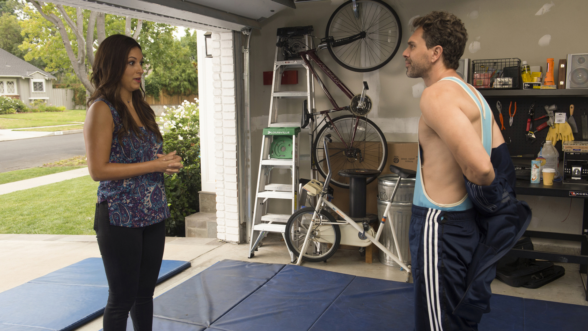 Matt is ready to break out his onesie and wrestle for the chance to be Colleen's only roommate.