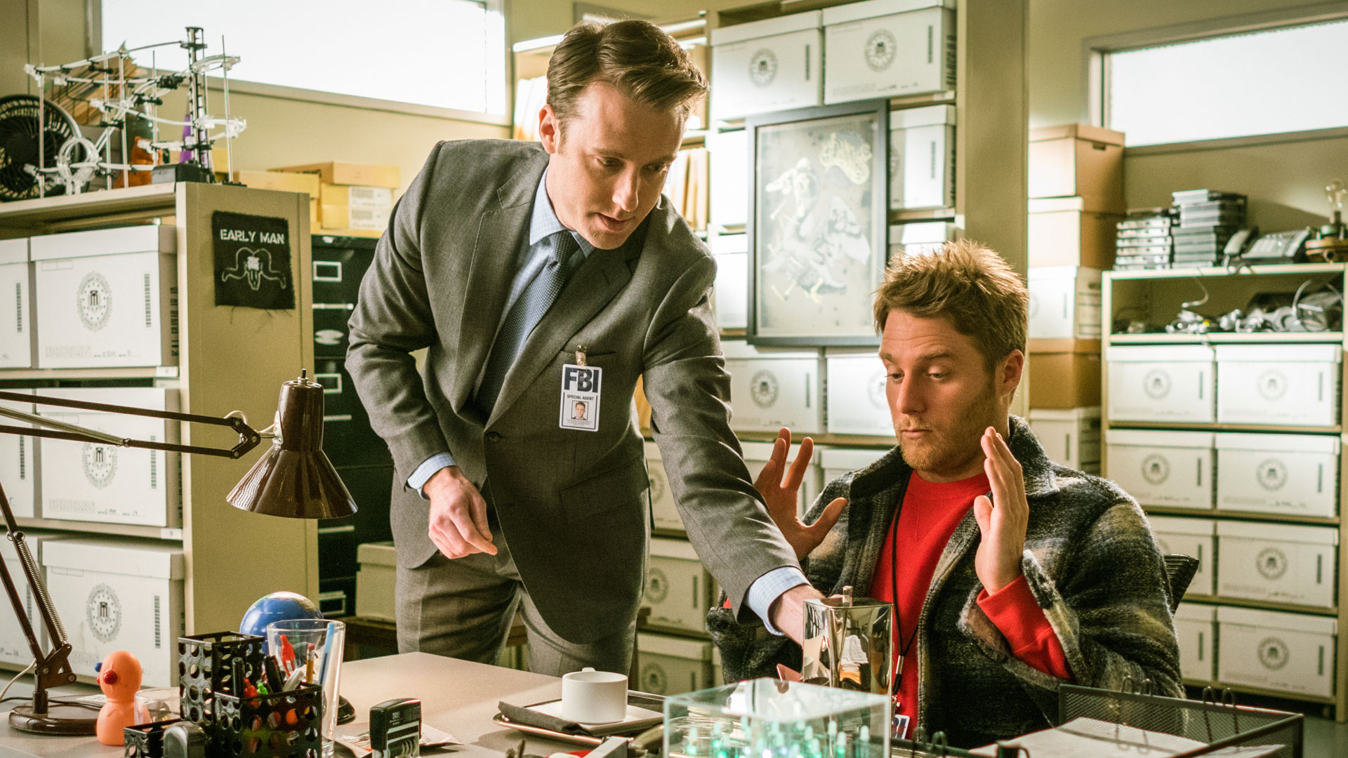 Stephen O'Reilly as Spike Four and Jake McDorman as Brian Finch