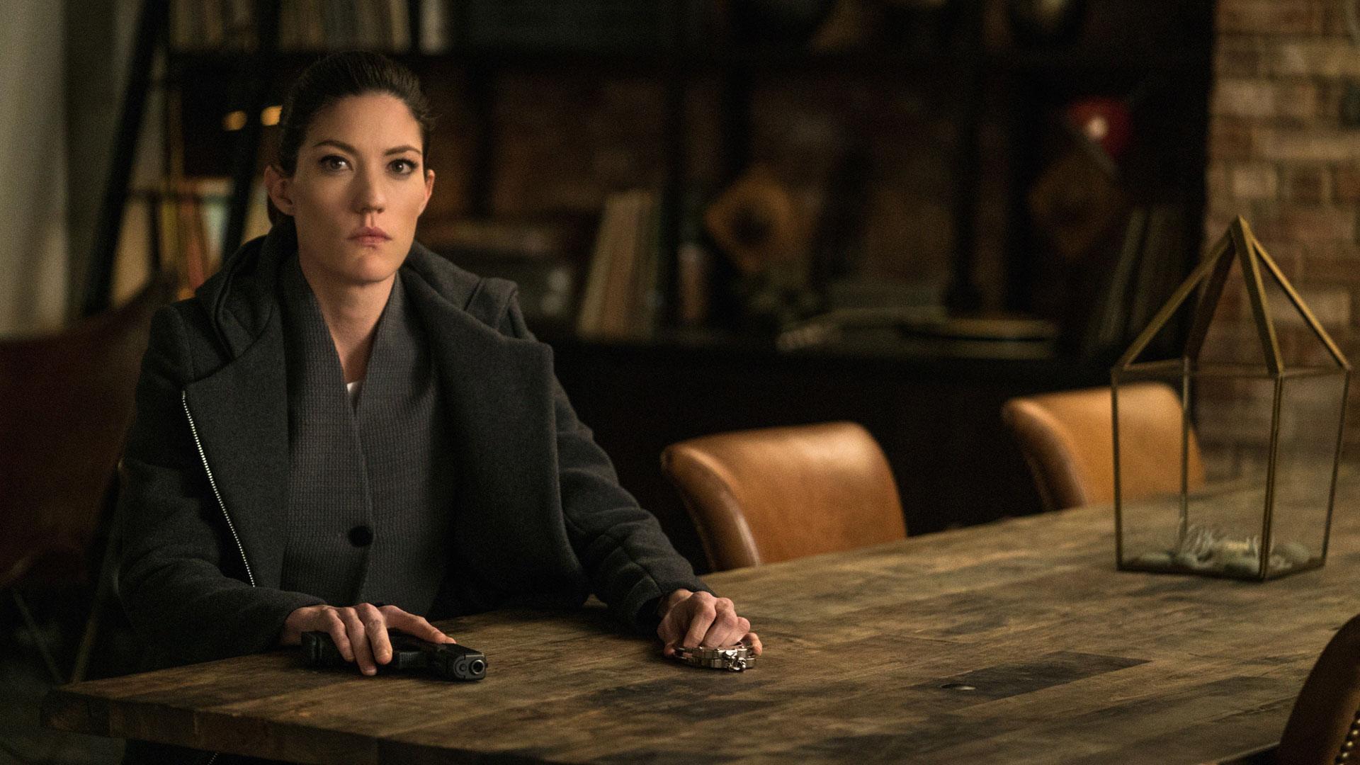 Jennifer Carpenter as Agent Rebecca Harris