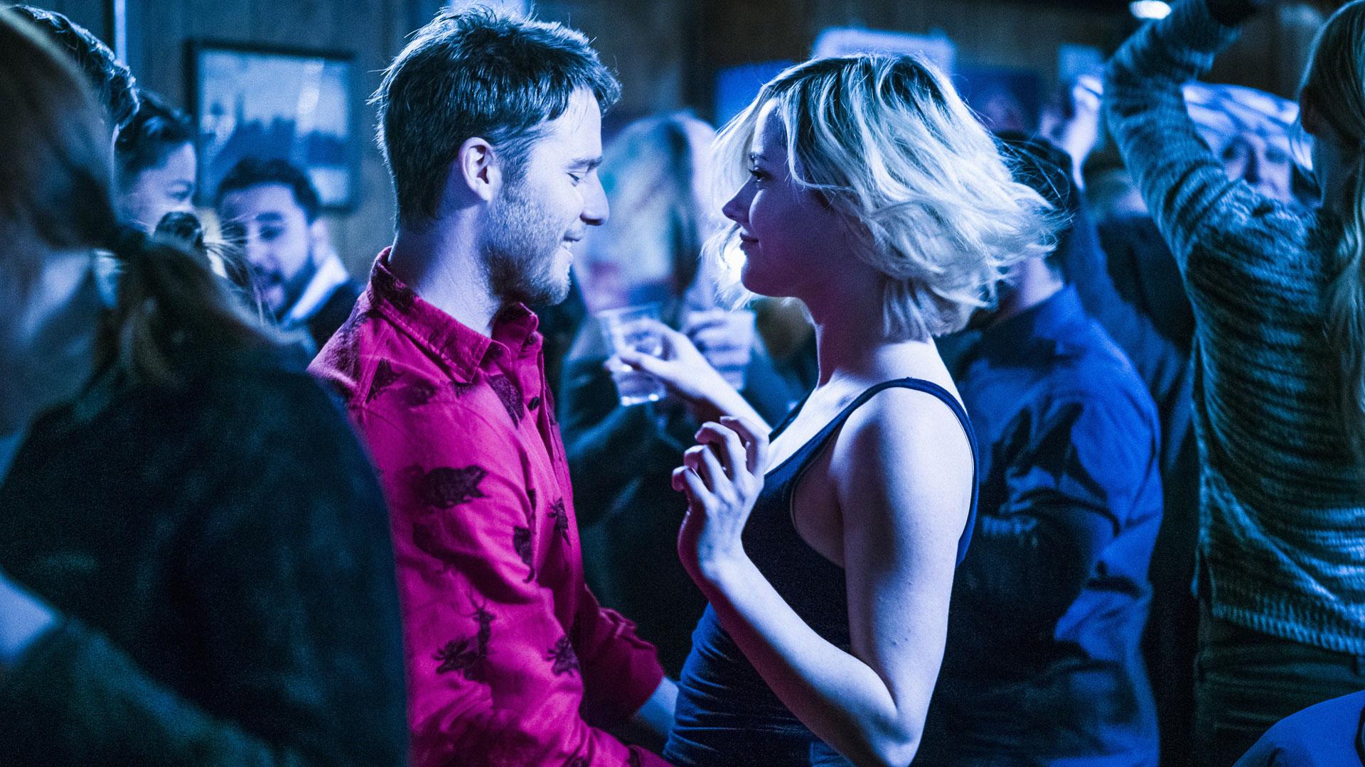 Jake McDorman as Brian Finch and Georgina Haig as Piper