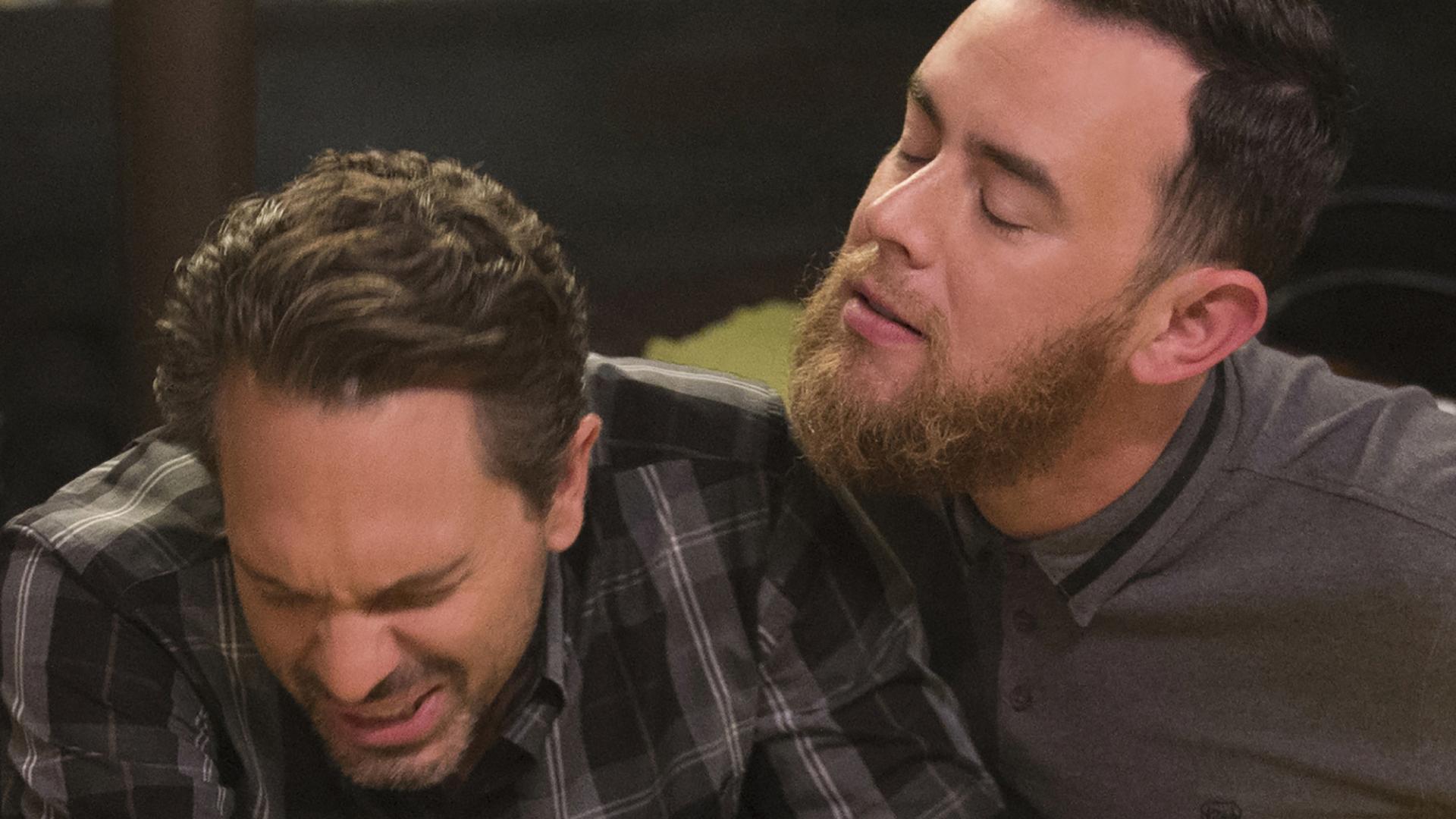 Greg's beard doesn't sit well with Matt.