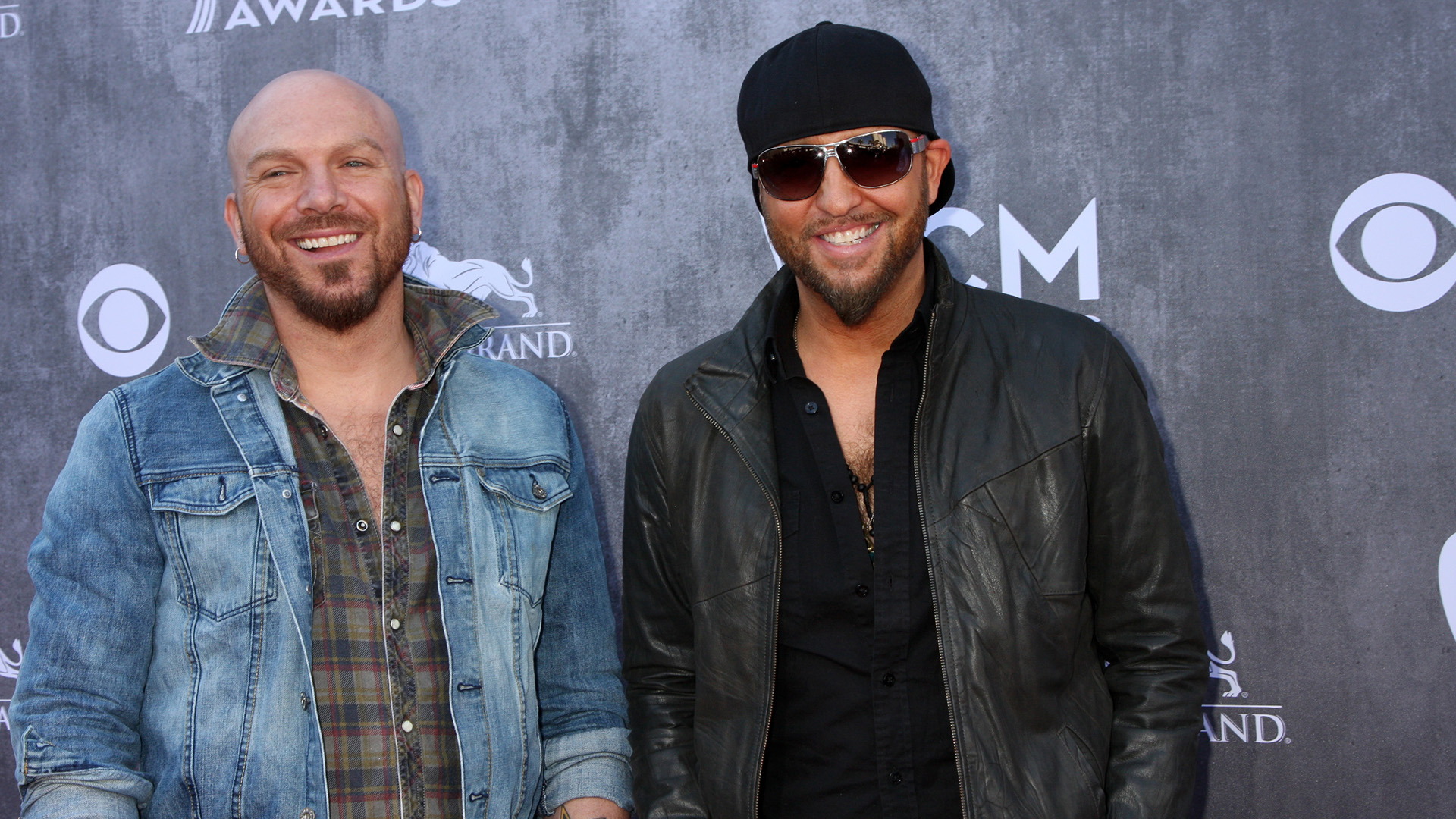 LoCash were all smiles at the ACM Awards in 2014.