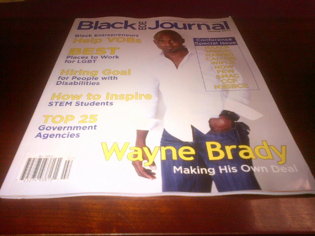 Wayne on Newstands!