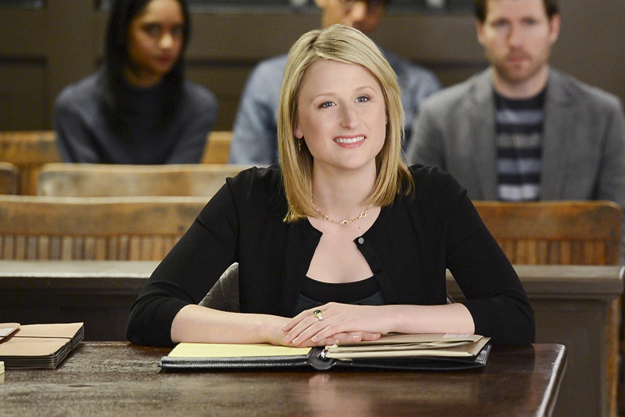 Mamie Gummer as Nancy Crozier