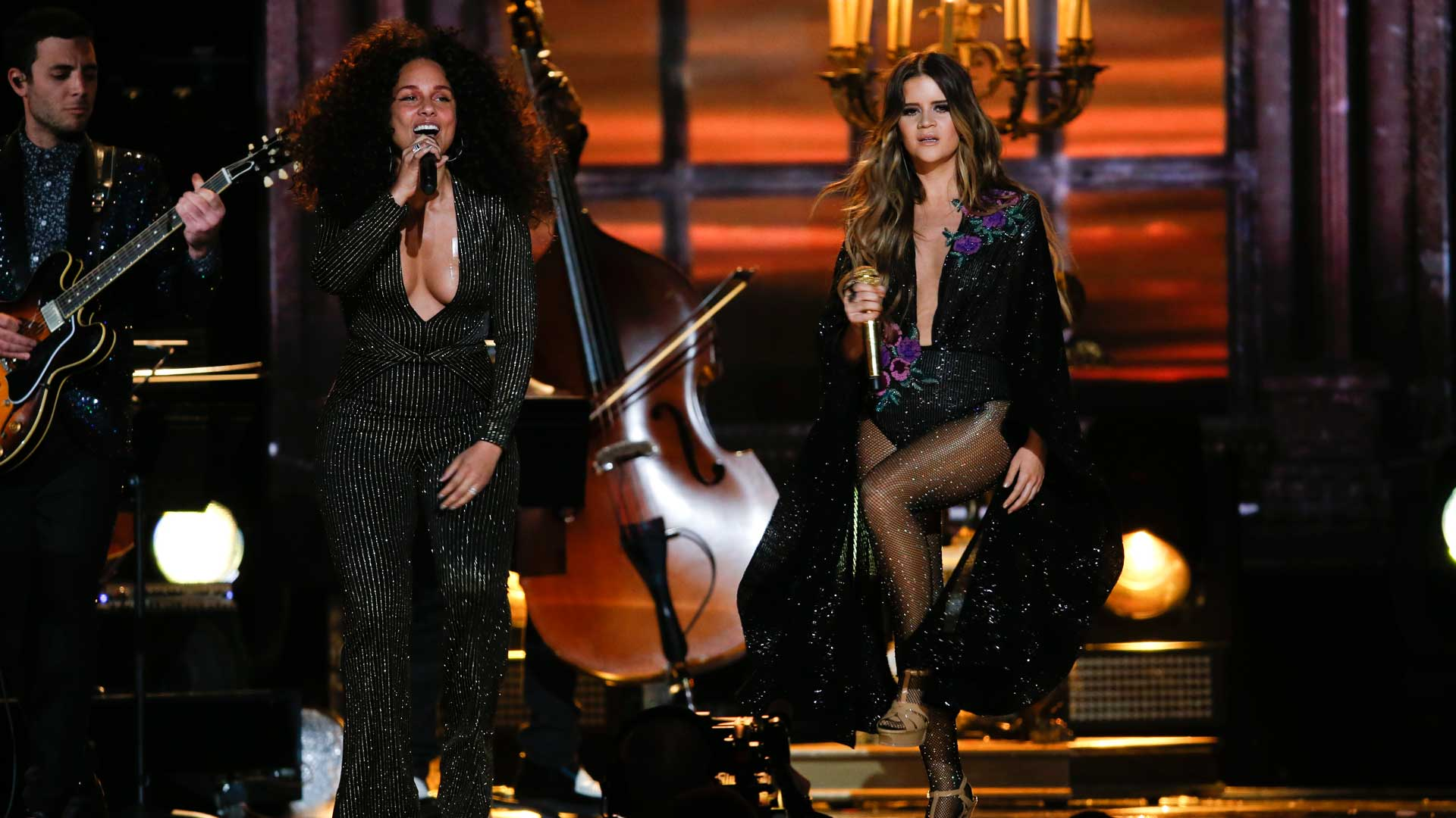 Maren Morris featuring Alicia Keys perform
