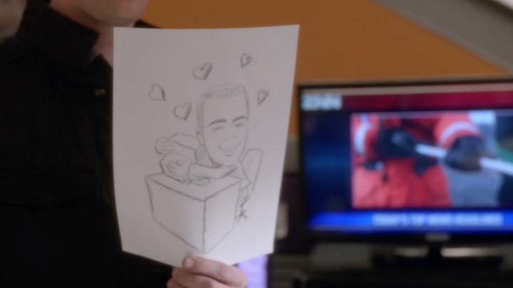 The caricature of McGee featured in the episode is a callback to the drawings made by Agent Kate Todd in