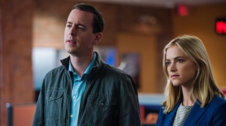 Sean Murray as Timothy McGee and Emily Wickersham as Ellie Bishop