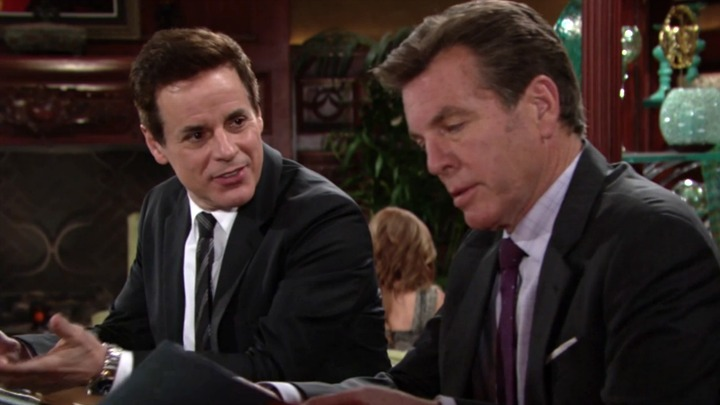 Michael surprises Jack with a subpoena.