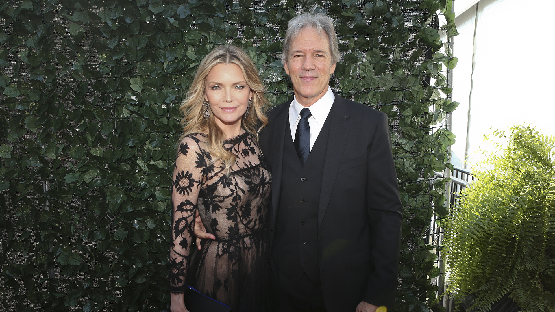 Michelle Pfeiffer from The Wizard Of Lies and producer David E. Kelley