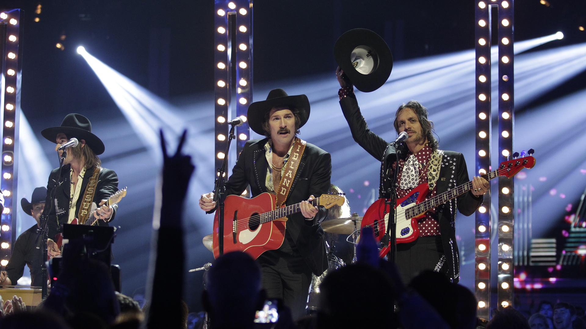 New Vocal Duo or Group of the Year winners Midland perform their hit