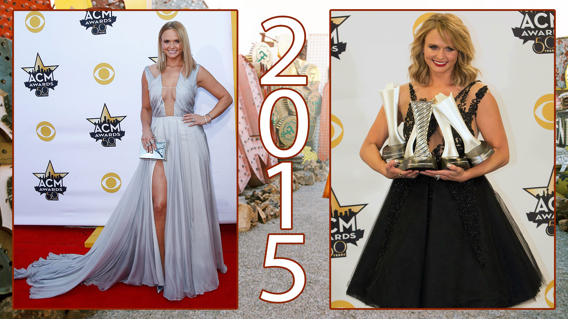 In 2015, Miranda proved platinum goes with everything.