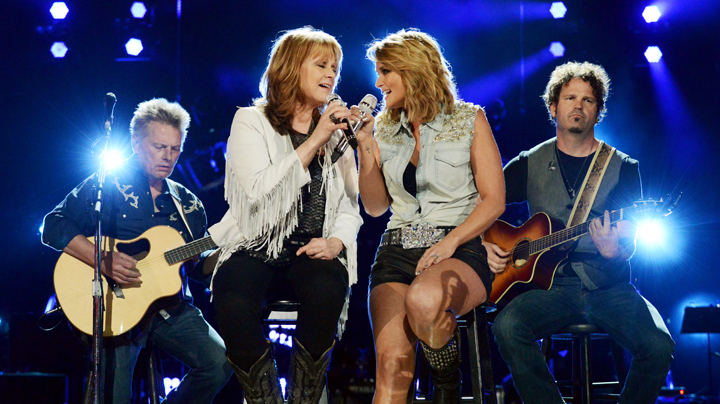 Miranda Lambert and Patty Loveless