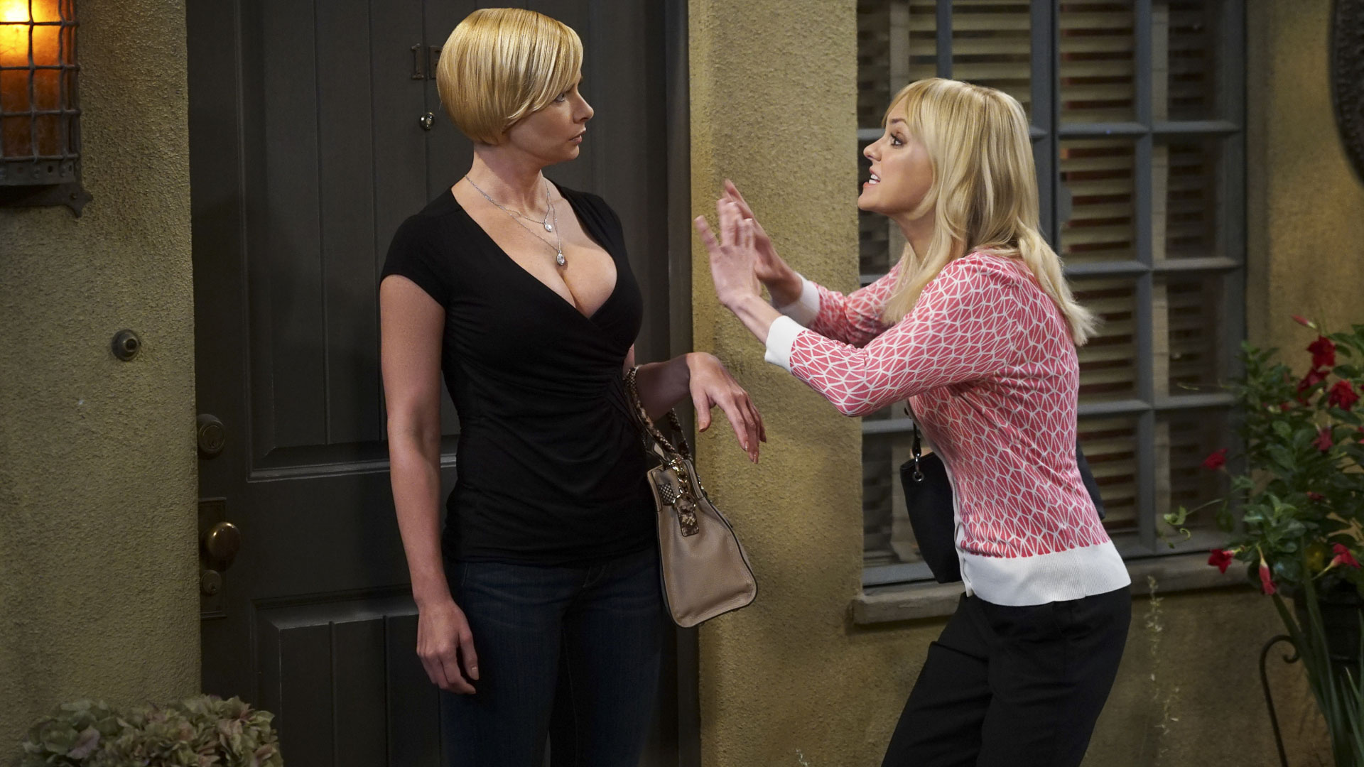Jill picks up Christy for a well-needed girls' night out.