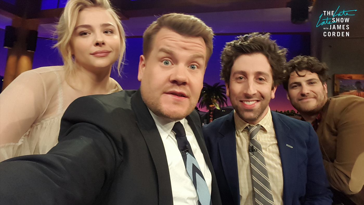 Chloë Grace Moretz, Simon Helberg and Adam Pally