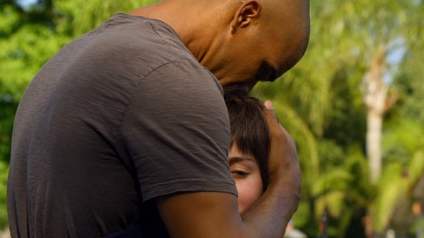 When SSA Derek Morgan was reunited with Ellie.