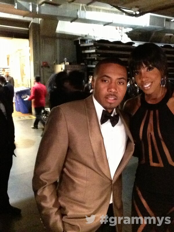 Nas and Kelly Rowland