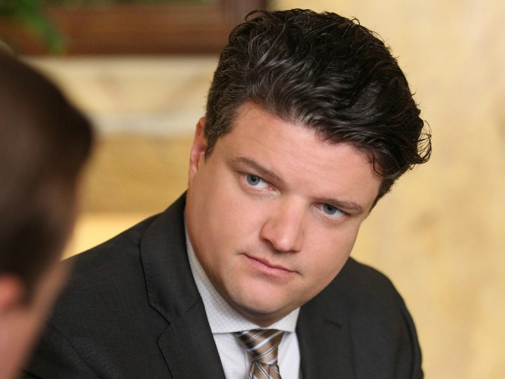 Matt Jones as NCIS Special Agent Ned Dorneget