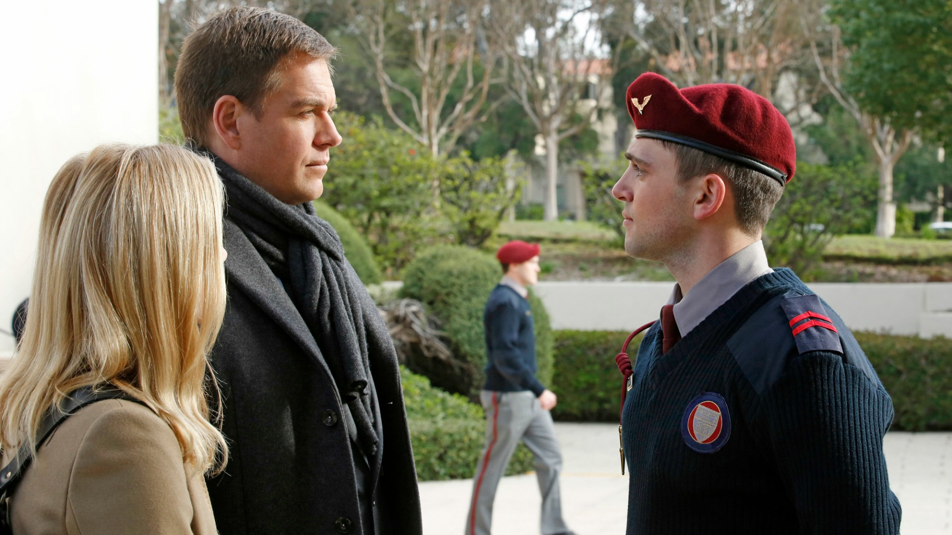 Robert Adamson as Senior Cadet Lucas Craig.