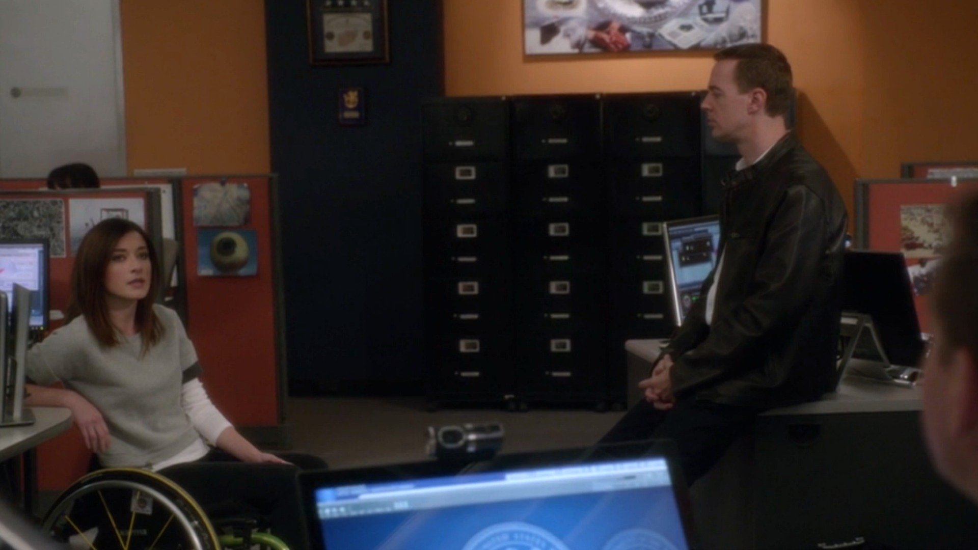 Delilah and McGee had an adorkable lover's quarrel at NCIS.