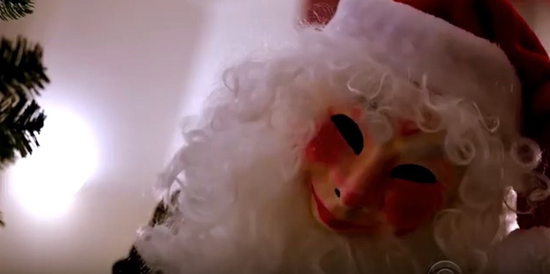 3. Creepy Santa mask