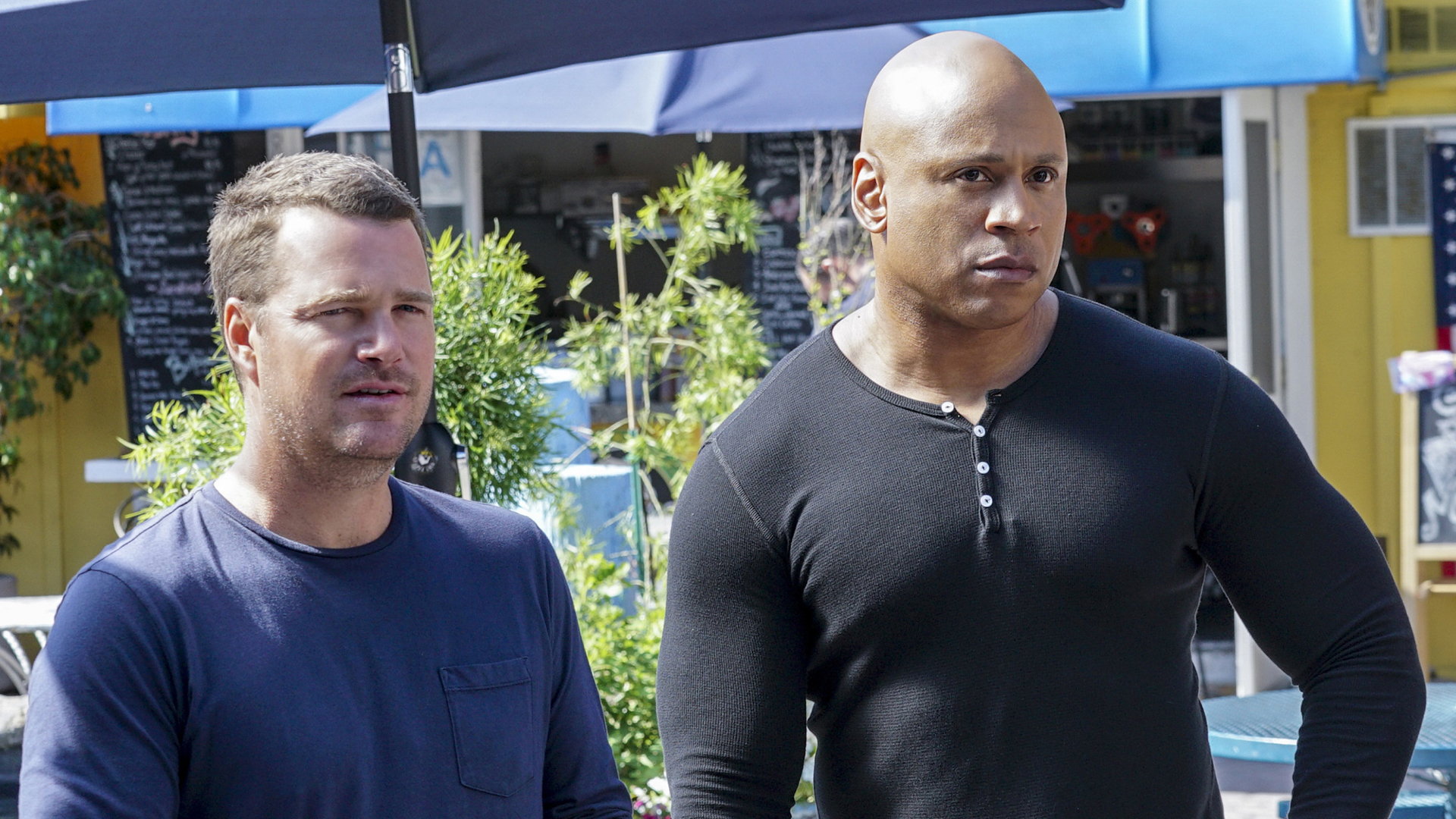 Callen and Sam listen up.