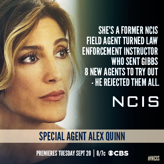 Agent Quinn might be the only woman for the job.