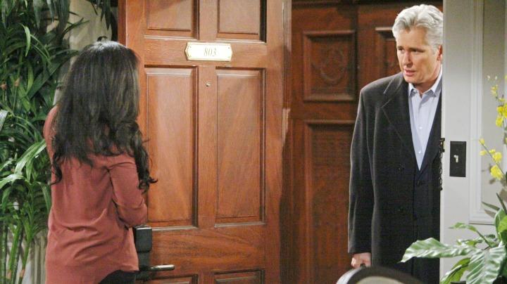 Dr. Neville makes a surprise visit to Hilary.