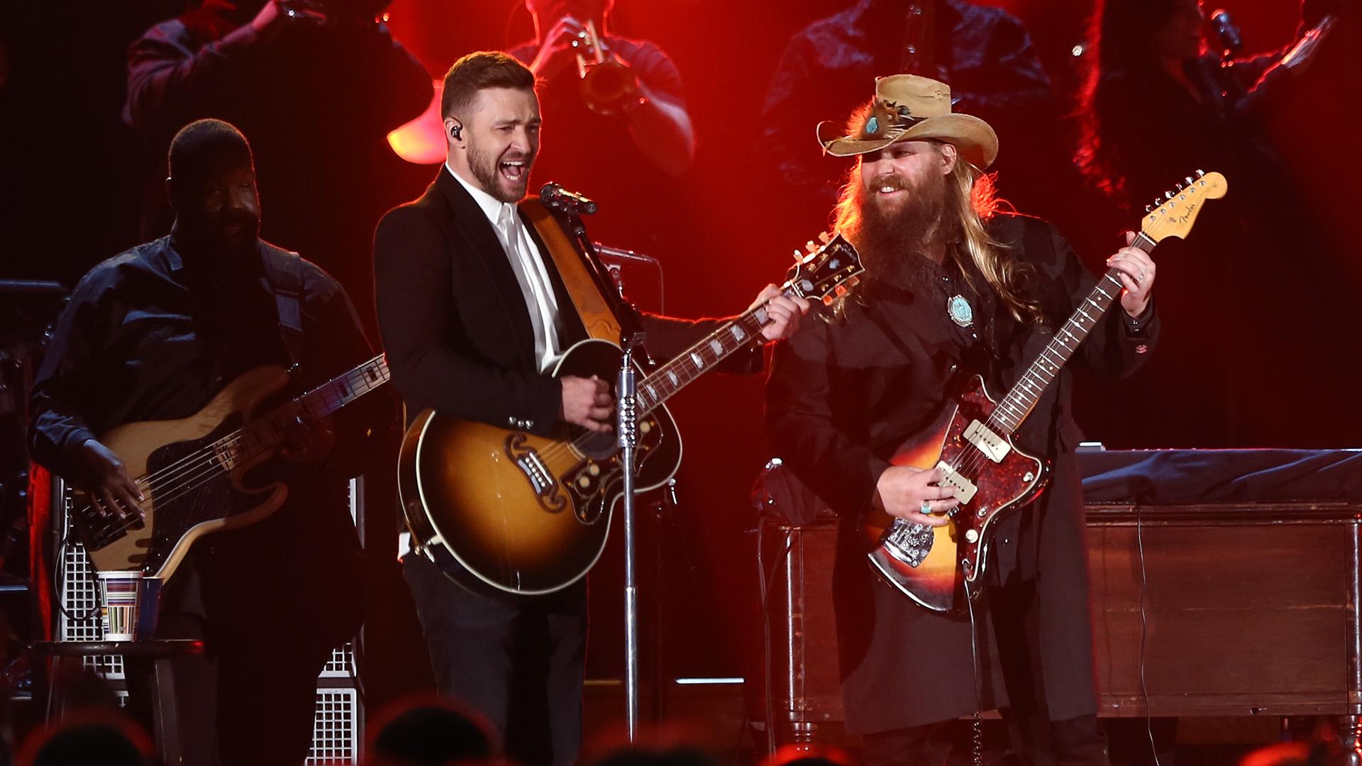 Chris Stapleton and Justin Timberlake