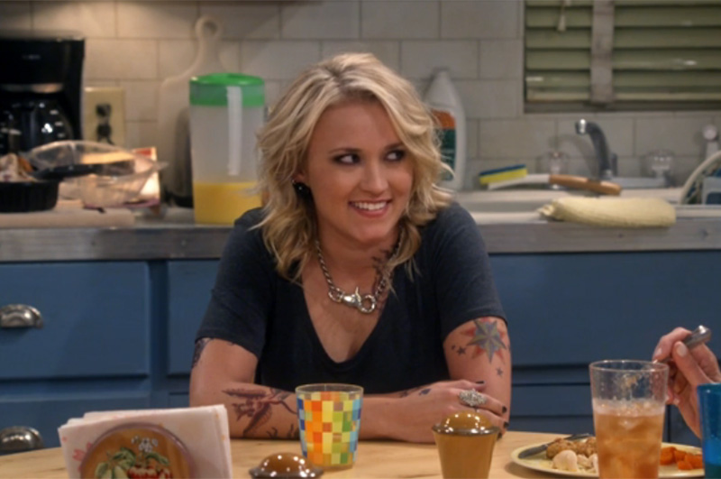 Actress Emily Osment opens up about her moving turn on Mom and how it fits into her acting career.