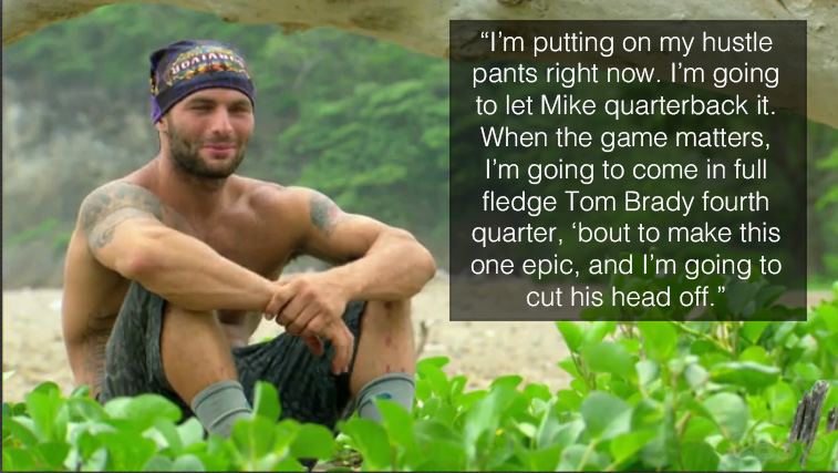 Rodney talks about his strategy with Mike.