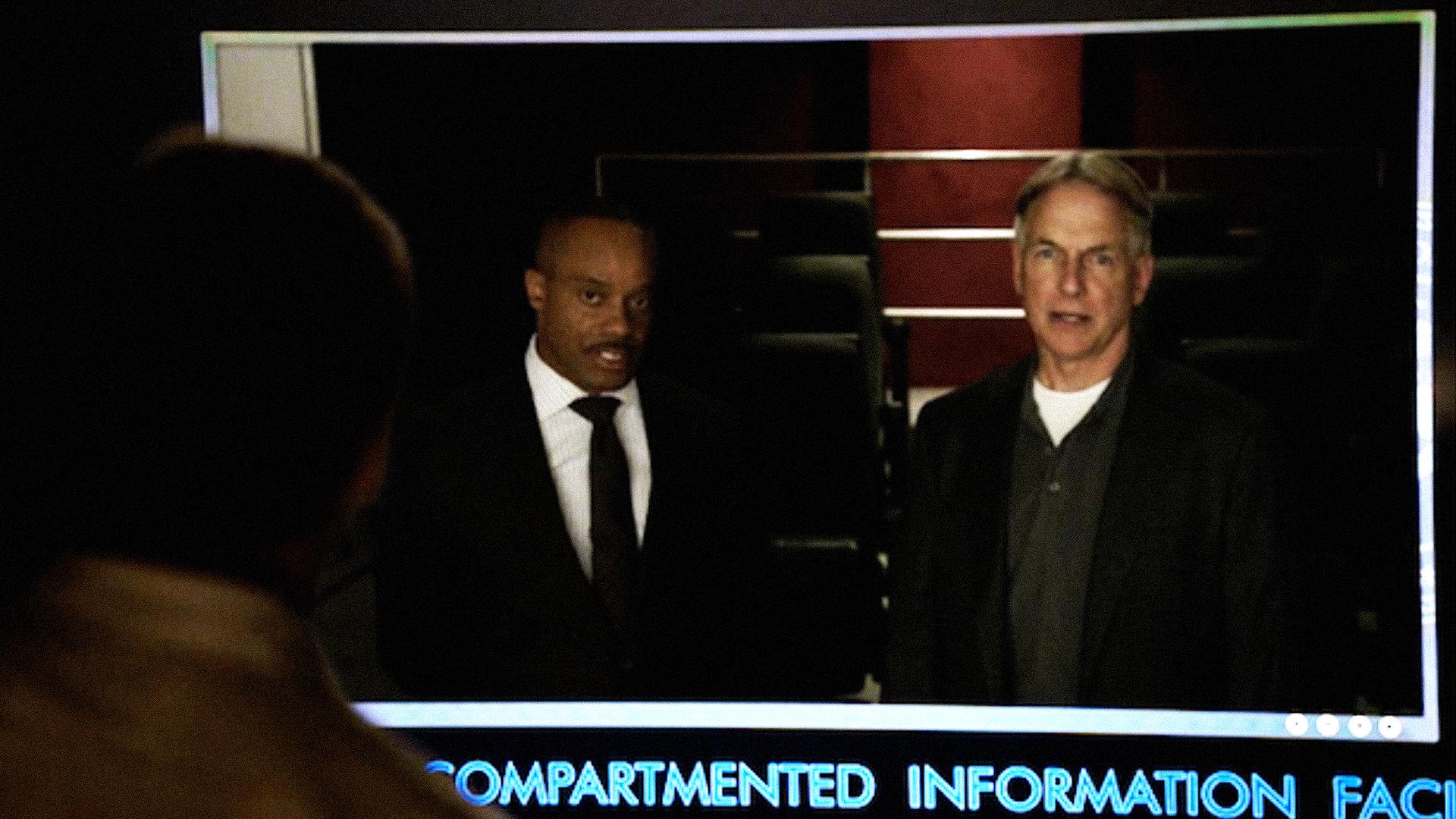 Leon Vance and Leroy Jethro Gibbs on NCIS: New Orleans